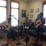 Jason Meagher, Nathan Bowles, and Steve Gunn Daytortter session at Good Danny's.