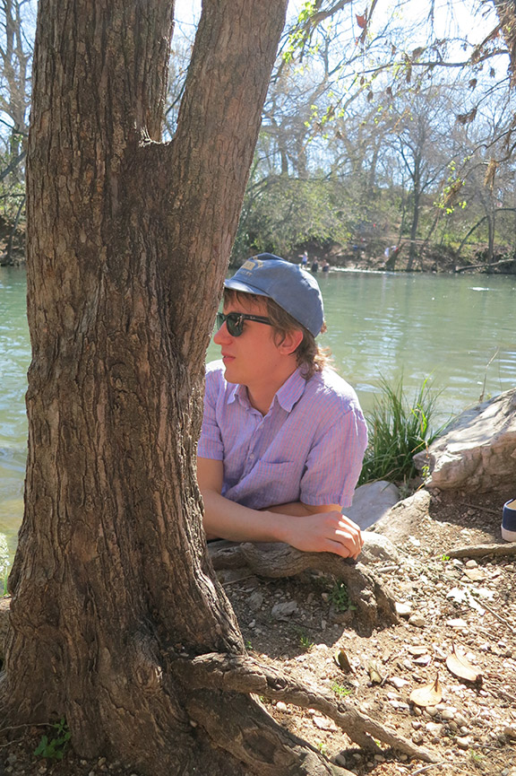 Steve Gunn at Barton Springs.