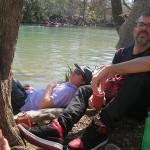 Steve and Ignacio in repose.