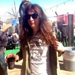 "Kurt Vile reps PoB. ""It's a shit business."""