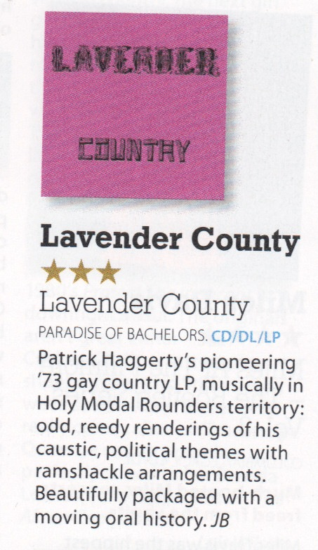 Lavender Country - Mojo review