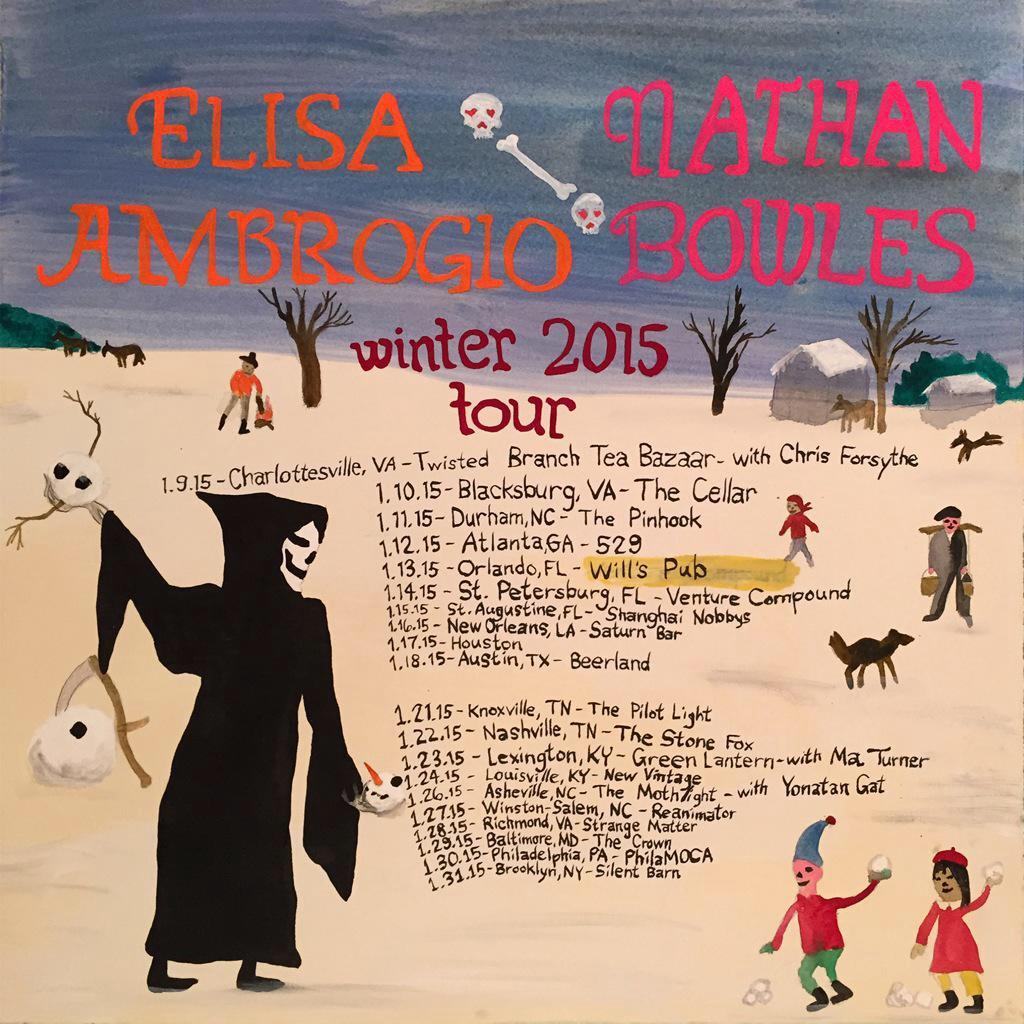 Nathan&Elisa tour