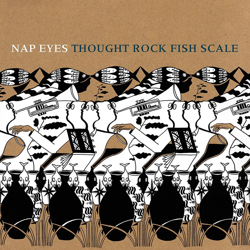 Nap Eyes Thought Rock Fish Scale Pob 024 Paradise Of Bachelors