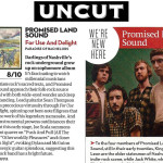 Promised Land Sound and Gun Outfit Reviewed by Uncut, MOJO, & Shindig.