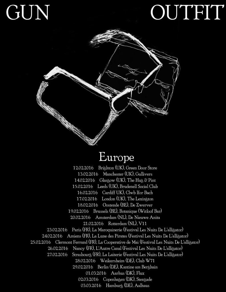 Gun Outfit-EU tour