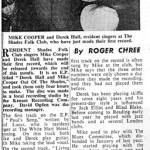 Cooper & Hall-newspaper