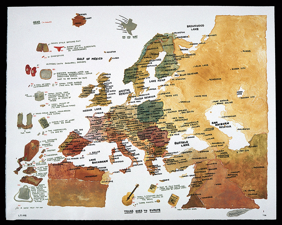 Map Of Texas Vs Europe.Texas Goes To Europe Web Paradise Of Bachelors