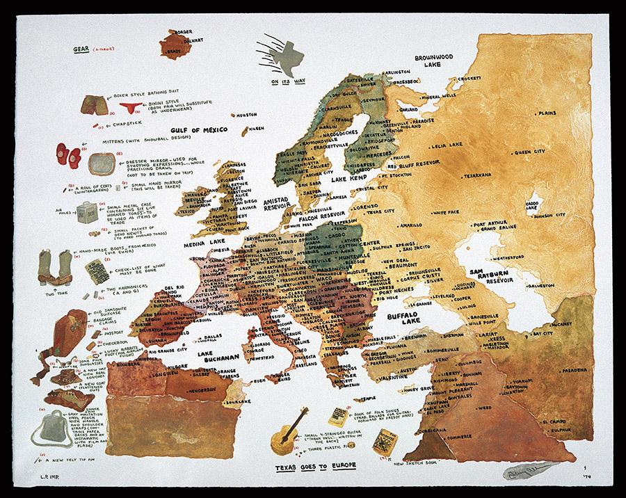 Texas Vs Europe Map.Texas Goes To Europe Web Paradise Of Bachelors